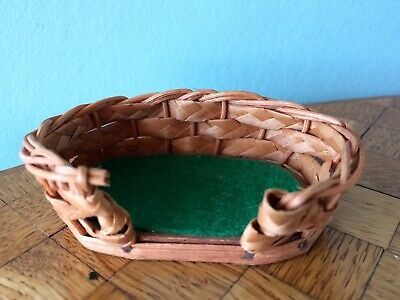 Hundekorb Puppenhaus Puppenstube 1:12 dollhouse dog basket