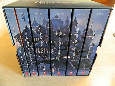 J.K. ROWLING  HARRY  POTTER  Boxed  Paperbacks  Volumes  2 - 7    Like  New