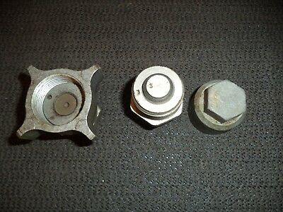 Dowty Tractor Hydraulic Coupling Cap Trailer Male Female Spare Part