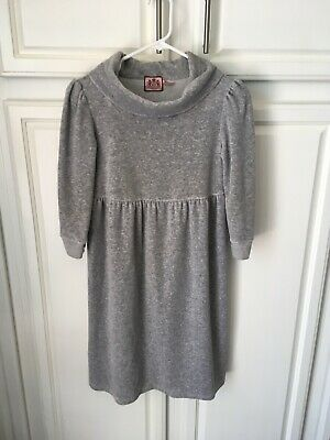 Juciy Couture Girls Cowl Neck Dress- Size Small Petite- Pre-owned