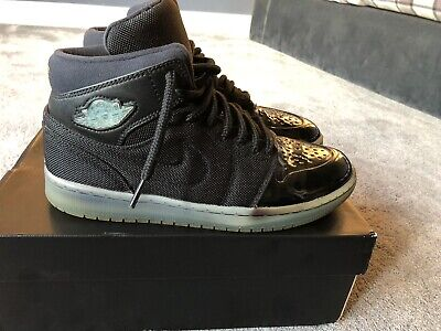 super popular 0b548 3f29a Nike Air Jordan 1 Retro 95 TXT Mid Gamma Blue Black
