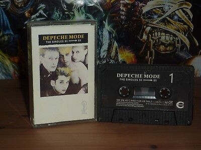 Depeche Mode The Singles 81-85 original 1985 cassette