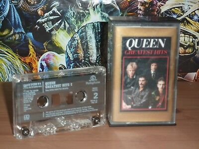 Queen Greatest Hits I & II original 1994 double cassette album