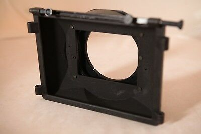 "Chrosziel Mattebox 4x4"" AC 411-04 Clamp On 100mm Sunshade für Fujinon 8,5 x 5,5"
