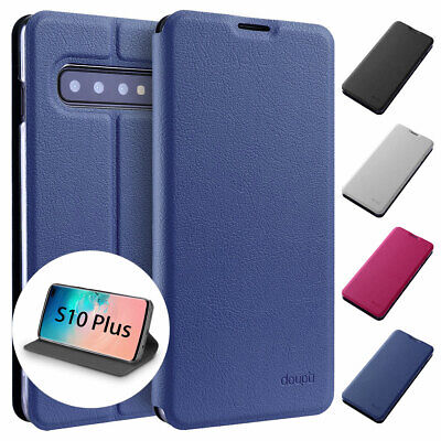 Flip Case Samsung S10 plus Magnet Cover Stand-Up Stand Cover Foil