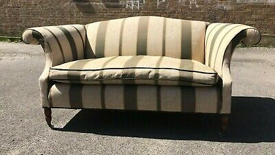 Laura Ashley,Parker Knoll Style Two Seater Settee/ Sofa Fully Sprung