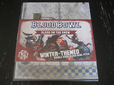 Blood on the Snow Winter-Themed Double Sided Blood Bowl Pitch GW Citadel 2016