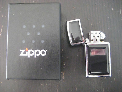Zippo Slm Ultralite Black 1655 Genuine Tempest Lighter Briquet 609328 67975 2007