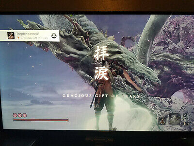 [PS4] Sekiro:Shadows Die Twice - Divine Dragon Boss Kill Trophy - NOT GAME!!
