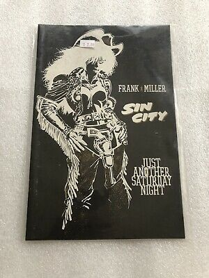 Sin City - Just Another Saturday Night by Frank Miller Dark Horse Comics 1998