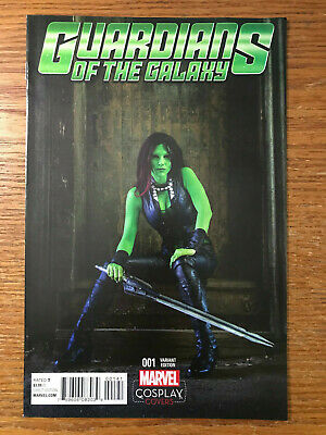 Guardians of the Galaxy #1 Cosplay Variant Vol 4 Marvel Comics 2015 VF/NM