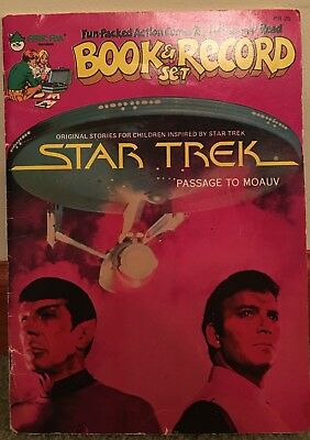 Book and Record Set - Star Trek - Very good condition.
