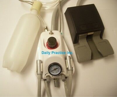 Johnson-Promident Turbo 2 Handpiece Self Contained Control System Dental #TURBO2