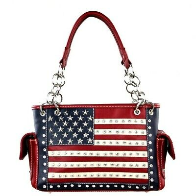 Montana West Concealed Carry Purse American Pride Collection US Flag Handbag