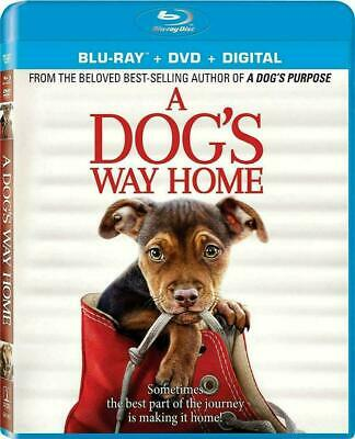 A Dog's Way Home (Blu-ray + Artwork case, 2019)   - No dvd,no Digital /Free ship