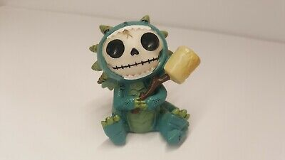 Furrybones Scorchie the Dragon Figurine Skull in Costume Gift New Free Shipping