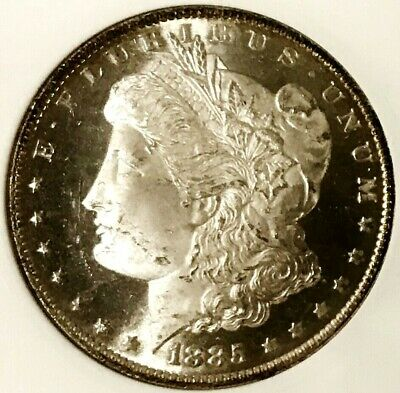1885-O Morgan Dollar MS64DMPL BEST CAMEO I've Seen in 2019, Unmatched Eye Appeal