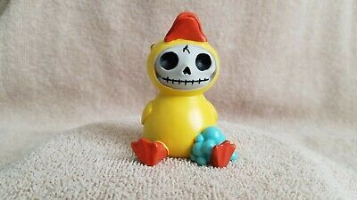 Furrybones Bob the Duck Figurine Skull in Costume Nice Gift New Free Shipping