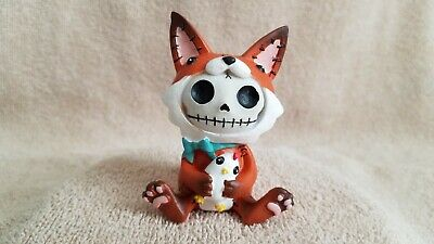 Furrybones Fen the Fox Figurine Skull in Costume Nice Gift New Free Shipping