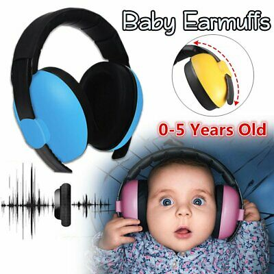 0-3 Year Baby Ear Muffs Noise Cancelling Reducing Earmuffs Hearing Protection