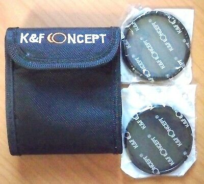K&F Concept Lens Kit Digital HD ND4 / CPL 62mm - As New Never Used