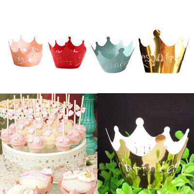 50pcs Filigree Vine Lace Cupcake Wrappers Cases Laser Cut Box Wedding Cake hot