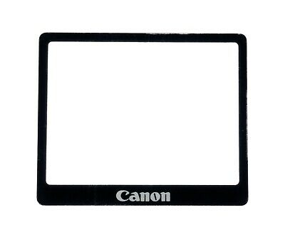 NEW Canon EOS 5D Classic Outer LCD Display Window Glass + Double Tape Adhesive