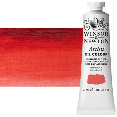 Winsor & Newton Artists' Oil Color 37 ml Tube - Quinacridone Red