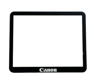 NEW Canon EOS 50D Outer LCD Screen Display Window Glass + Double Tape Adhesive