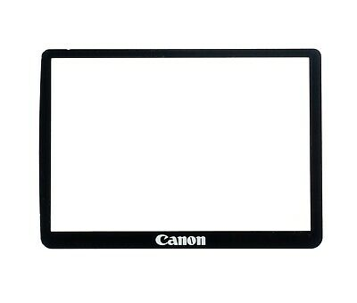 NEW Canon EOS 550D Outer LCD Screen Display Window Glass + Double Tape Adhesive