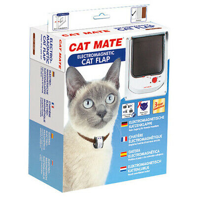 Cat Mate Porte de Chat Électromagnétique 254 Blanc,