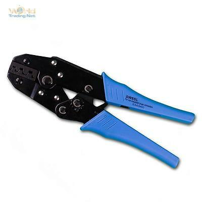 Crimp Pliers for Uninsulated Cable Shoes by 0,5 - 6,0mm ² Crimping Pliers,