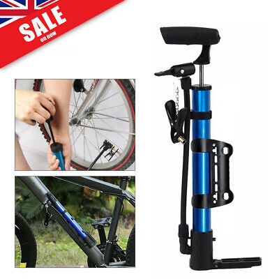 MTB Bike Bicycle PUMP Presta & Schrader Valve Ball Air Pumps Inflater Portable