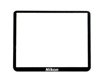 NEW Nikon D3200 Outer LCD Screen Display Window Glass + Double Tape Adhesive
