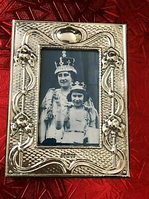 Art Nouveau - Sterling Silver Photo Frame - Paul Vernon Fitchie - London - 2018