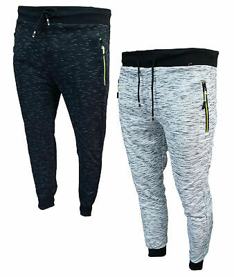 Pantaloni Tuta Uomo Sportivi Fitness Basic Regular Autunno Primavera Estate 9609