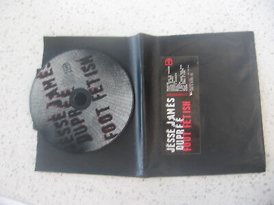 Jesse James Dupree Foot Fetish CD Limited Edition Stocking Jackyl NEW