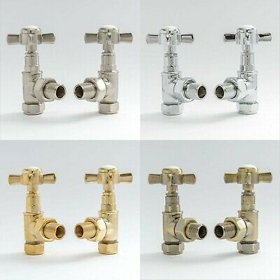 Hot-Flow | Bayou Traditional Angled Cross-head Radiator Valves
