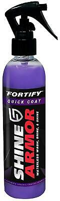 Shine Armor Fortify Quick Coat Wax – Top Coat Ceramic Gloss Polish and Sealer –