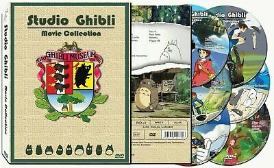 Hayao Miyazaki Studio Ghibli 17 Movie Collection DVD Set Box (6 discs)