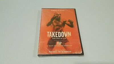 Takedown - The DNA of GSP (DVD, 2014) New