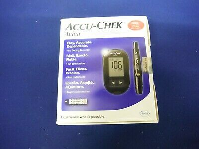 Accu Chek Aviva Glucose Diabetic Meter Monitor Test Strips Not Included EXP06/19