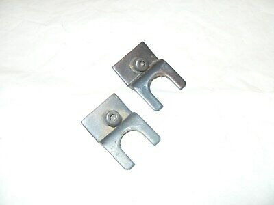 Hegner Multicut - 2 Scroll Saw Spares: Tension Rod Retaining Brackets As Photo's