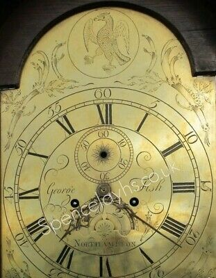 Northampton Grandfather Clock George Fish Circa 1760-70