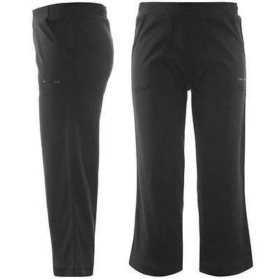 BNWT WOMENS GIRLS BLACK  LA Gear Three Quarter il trousers/bottoms Ladies size 8