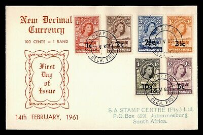 Bechuanaland (until 1966) Bechuanaland 1961 New Values Full Set Of 11 Sg157-167a Mint And 1 Used.