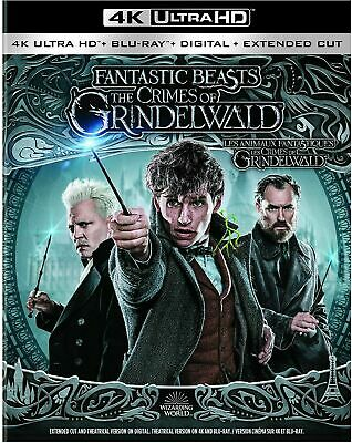 Fantastic Beasts: The Crimes of Grindenwald 4K ULTRA HD Blu-ray Digital STEF-397