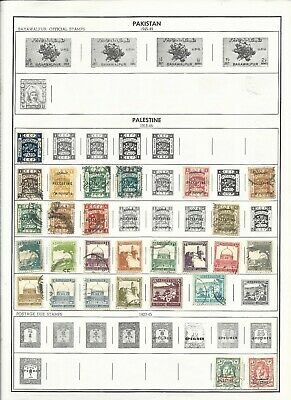 Palestine,Panama,Paraguay,Portugal,Guinea,Congo,India  Harris World Stamp Album