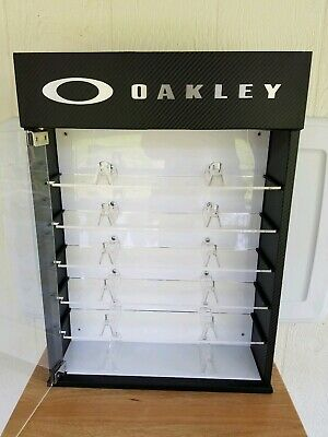 0fed86fc294e1 OAKLEY LED DISPLAY case stand for shades and sunglasses fits up to ...