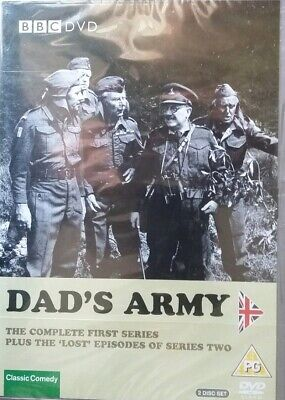 DAD'S ARMY ~DVD~The Complete First Series Plus the 'LOST' Episodes of Series Two